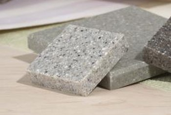 Granite tiles are usually more afforable than a full slab.