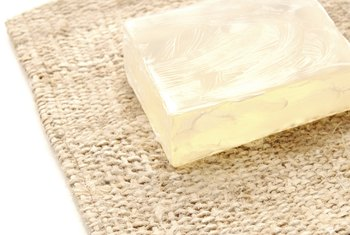 Glycerin soap is one of the many uses of vegetable glycerin.
