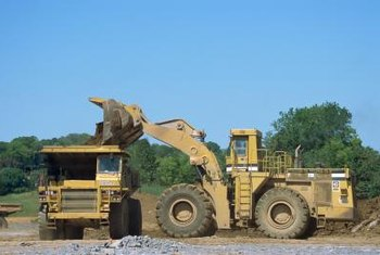 Companies pay tangible property tax on heavy equipment and movable assets.