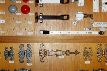 Gate hinges come in a wide variety of shapes and sizes.