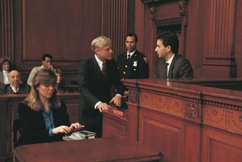 Forensic psychiatrists can serve as expert witnesses during trials.