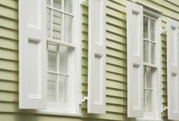 Shutters look cleaner without a chalky residue.