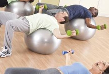If you don't have a bench, perform flyes on a stability ball.
