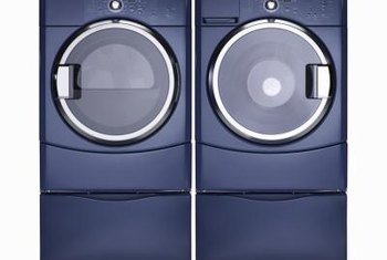 An undercounter washer and dryer requires sufficient space.