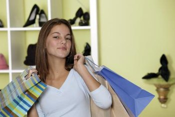 Encourage customers to purchase purses and accessories that complement their shoes.