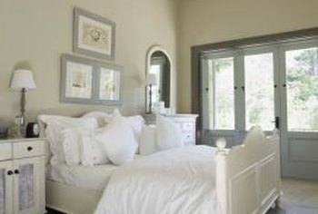 The master bedroom should feel spacious and bright.