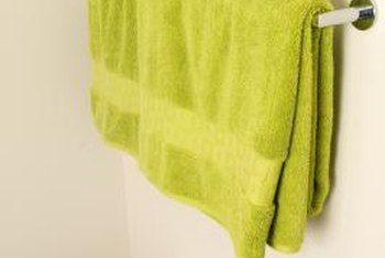 The obvious solution for hanging bath towels may not be the best one.