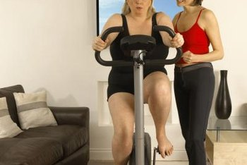 Frequent stationary bike workouts can lead to reduced fat throughout your body.