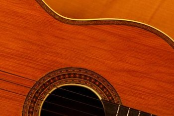 French polishing produces luster and depth on musical instruments.