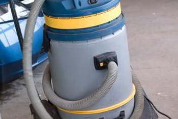 Lubricate your vacuum's wheels to stop them from squeaking.