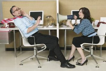 Workplace noise can cause stress and anxiety.