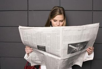 Advertising in newspapers can help you reach a more local audience.