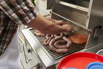 Protect yourself from possible burns by anchoring your outdoor grill.