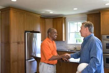 Home sellers can prepay contractors to perform post-sale renovations for buyers.