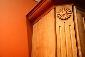 Cove molding is a profile often used to make crown moldings.