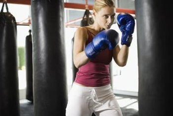 Many elements of a boxing workout help you burn fat.