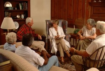 Social workers play important roles in helping new residents adjust to life in nursing homes.
