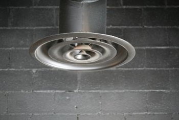 Diffusers are often installed in air-conditioned basements and workshops.