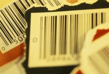 Bar codes make it easier to track specific inventory items.
