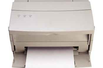 Make sure you buy a printer that's designed to handle your office's print volume.