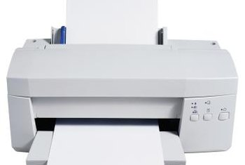 Both laser and inkjet printers generate excellent print quality.