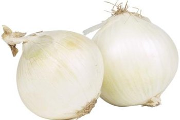 Sweet onion colors are yellow, red or white.