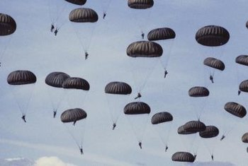 Paratroopers serve in the Airborne branch of the Army.