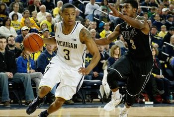 Trey Burke's ball-handling helped make him the college player of the year in 2012-13.