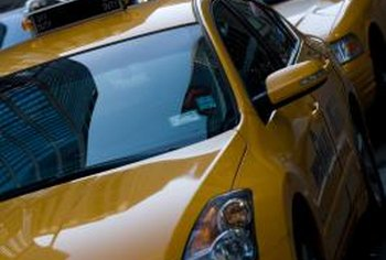 Most taxi drivers are independent businesspeople who pay business taxes.