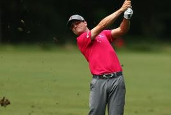 Drills to slow your hip turn will help you swing through the ball more effectively, as pro Zach Johnson demonstrates.