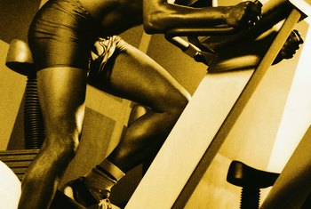 You need the right genetics for stair climbing to increase leg size.
