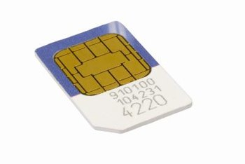 Save contacts and other data to your LG phone's SIM card.