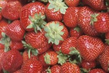 Strawberries grow all over the United States.