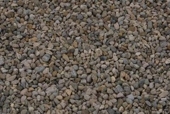 Gravel trenches ensure proper drainage around your pool.
