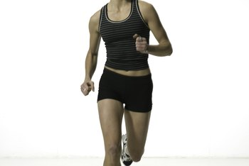 Running injuries can trigger lateral pelvic twist.