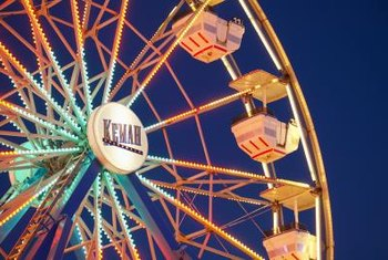 Amusement parks thrive on creating a social environment for large groups.