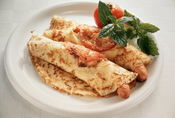 Try an egg white and veggie omelet for breakfast.