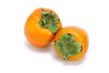 Fuyu persimmons have a slightly square shape.