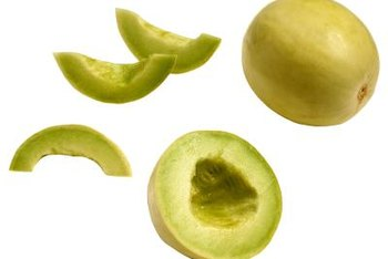 Enjoy homegrown honeydew even if you don't have a garden bed.