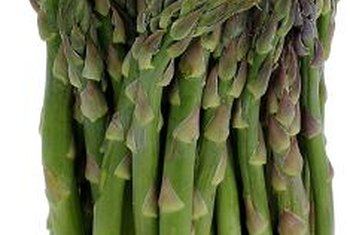 Asparagus produces year after year.