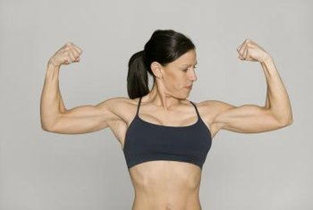 Despite hormonal level limitations, women can still build significant muscle.