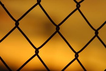 Chain link is a durable, easy-to-repair fencing system.