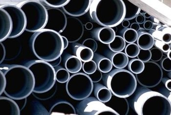 PVC pipe is excellent for creating barriers and fences.