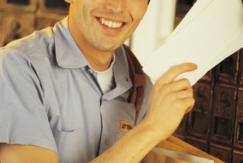 Letter carriers for the USPS work part time or full time in city or rural routes.