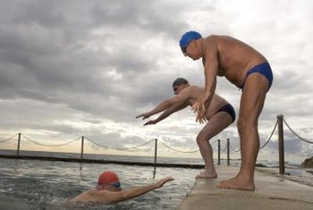 Swimming burns calories, tones muscle and helps prevent chronic diseases.