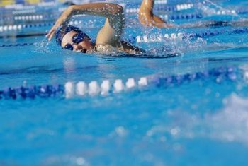 Swimming can help you burn enough calories to lose your stomach fat.