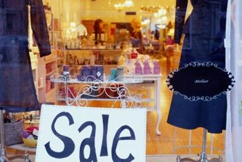 A small business can't place a sale sign in the window if it's not really holding a sale.