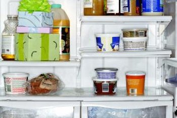 If food items aren't arranged in your fridge properly, they can block air vents and affect its temperature.