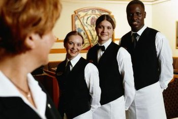 Servers acquire skills they can use in different careers.