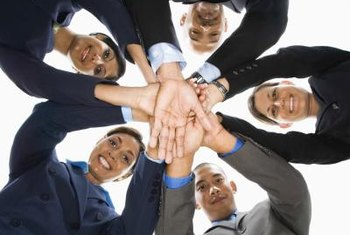 Forming teams to carry out work is a common organizational trend.
